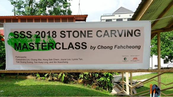 stone carving masterclass banner